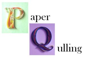 Paper Quelling Handicraft