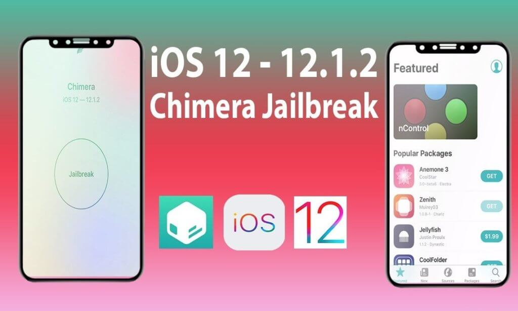 Jailbreak iOS 12 using Chimera