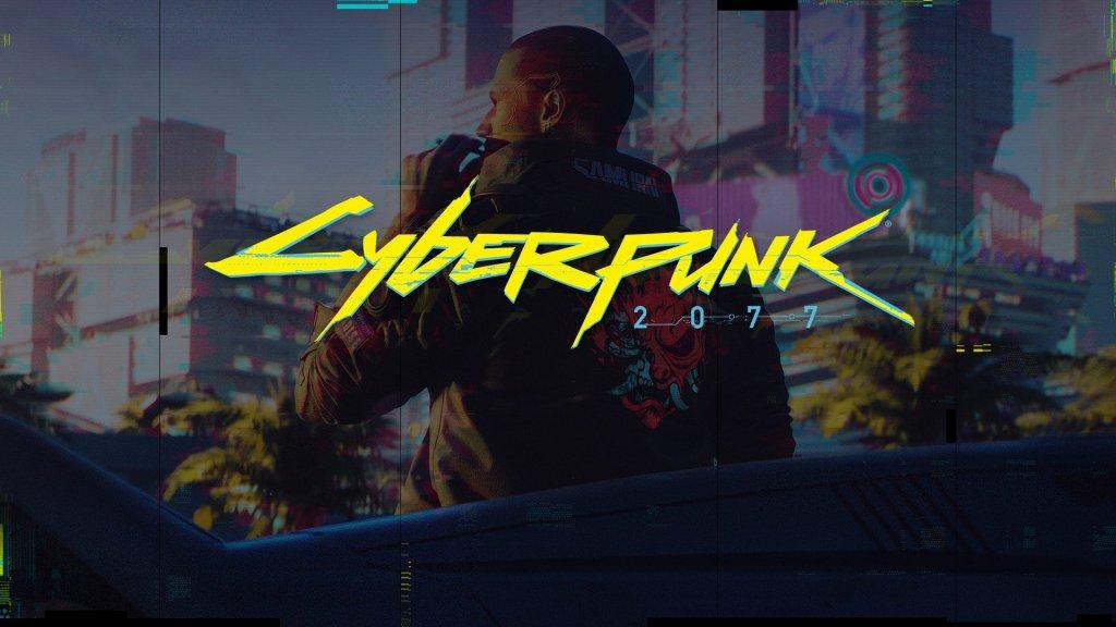 Cyberpunk 2077 game poster