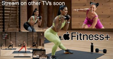 Apple Fitness Plus Stream on Smart TV via AirPlay