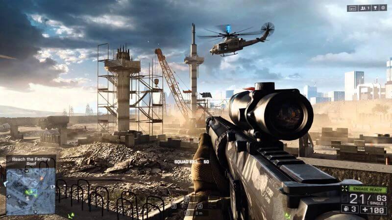 Battlefield 6 Game Setting.
