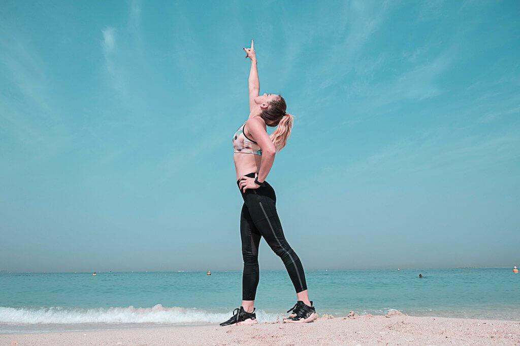 Fitness motivation girl