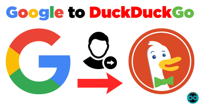 Google to DuckDuckGo Search Engine