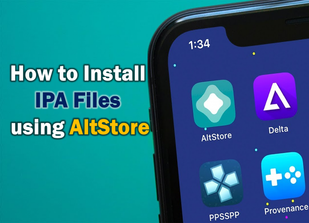 Install IPA files using AltStore