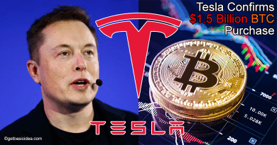 Tesla Confirms Bitcoin Purchase