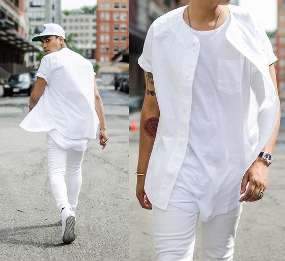 All white a new fashion trend