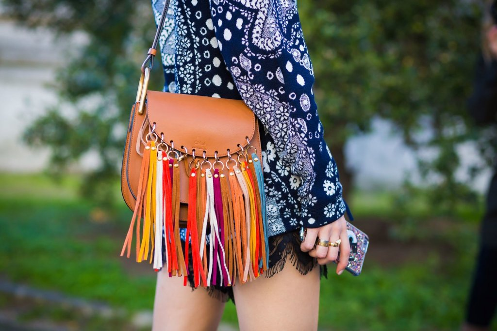 Fringing on the bags as a new Wearable Fashion trend 2021