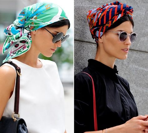 Protect your hair with a stylish Head Scarf