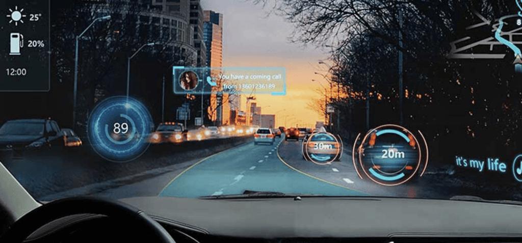 AR windshield