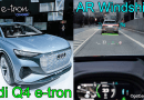 Audi Q4 e-tron AR Windshield Display