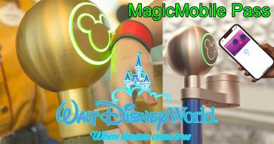 Disney MagicMobile Contactless Digital Pass