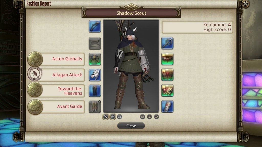 Final Fantasy XIV Fashion Report