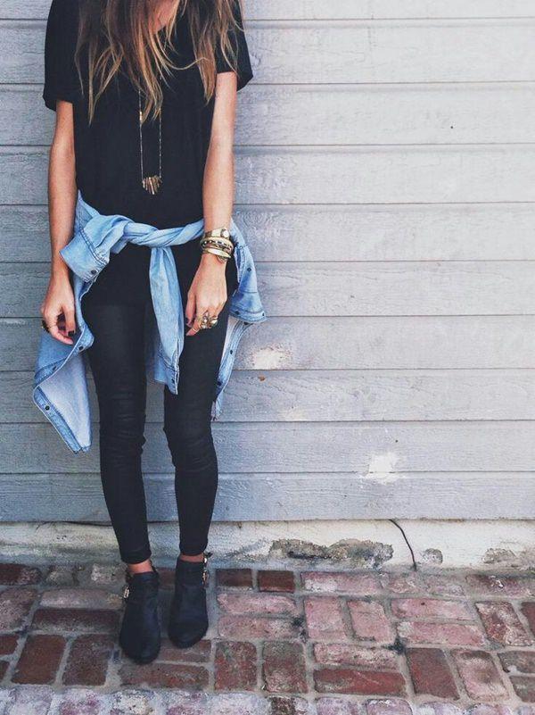 Girls Fashion All Black Dress Get Basic Idea