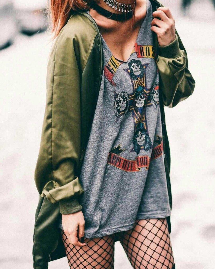 Grunge Punk Girls Fashion