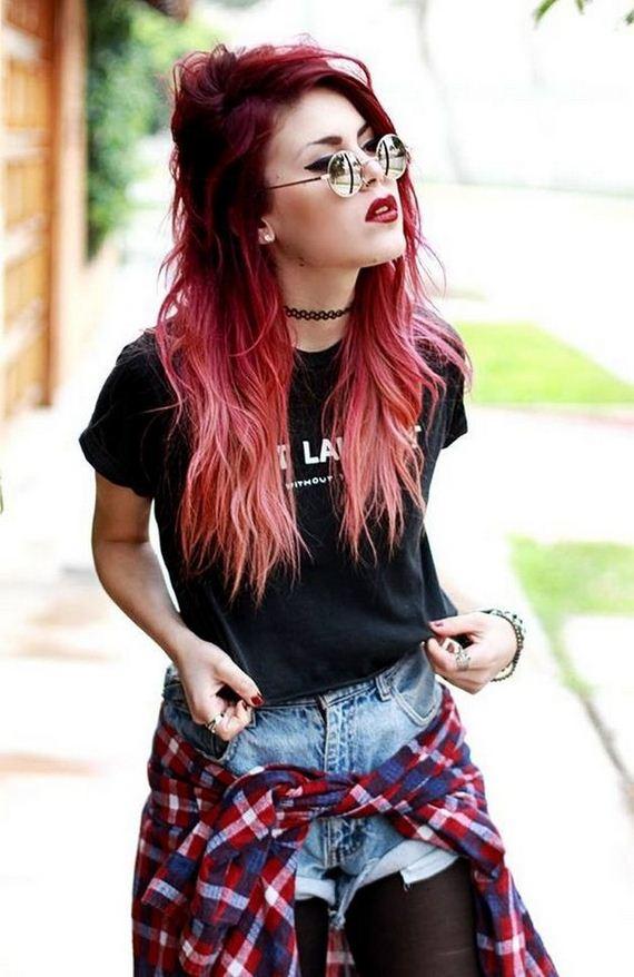 Punk Rock Hipster Girl's Fashion
