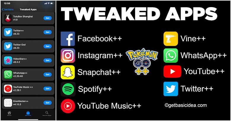 Tweaked Apps Get Basic Idea