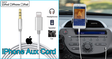 iPhone Aux Cord