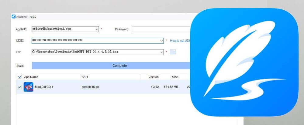 Cydia Impactor Alternative - AltSigner is one of the best alternative for Cydia Impactor.