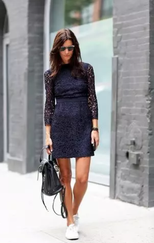 Sophisticated in blue