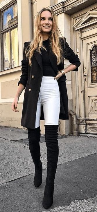 Dress Boots with jeans