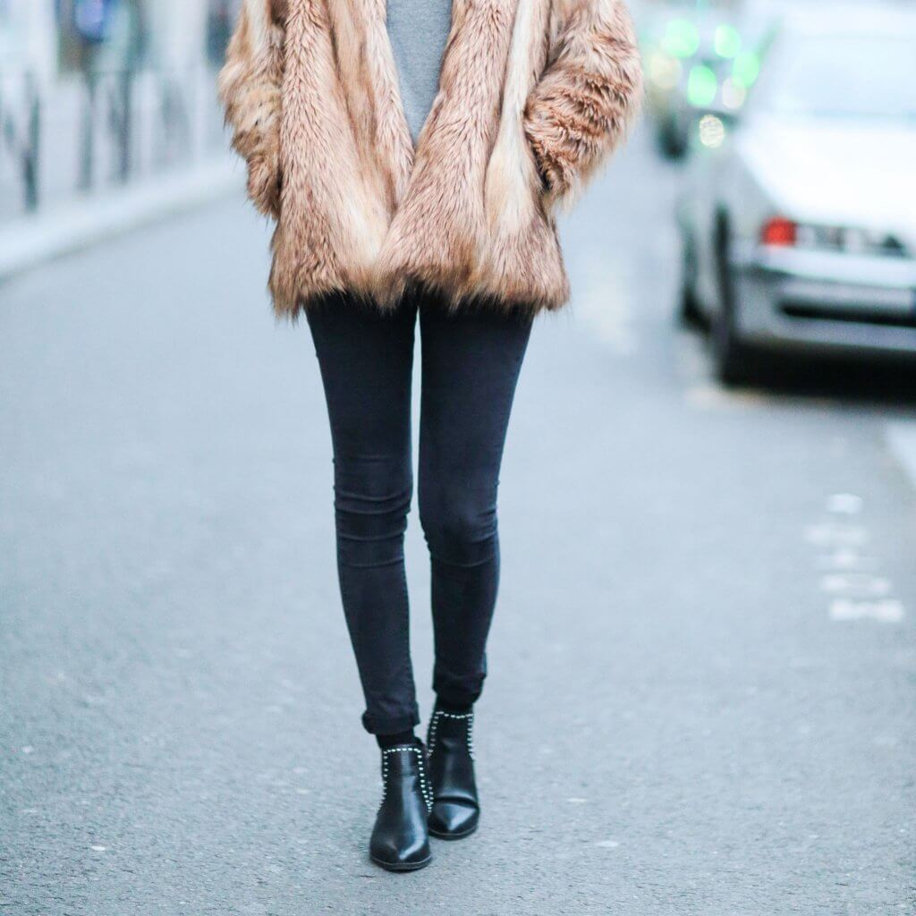 Dress Boots with sweater