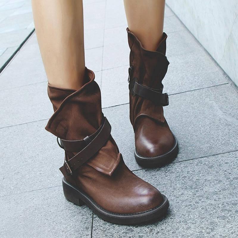 Mid-Calf Dress Boots