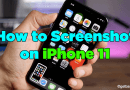 How to Screenshot on iPhone 11 Get Basic Idea