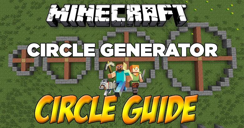 Minecraft Circle Generator Tools