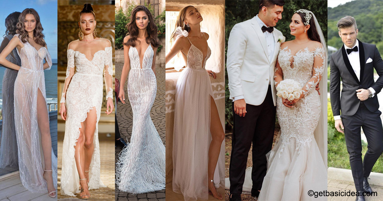 Sexy wedding dresses for ladies and men