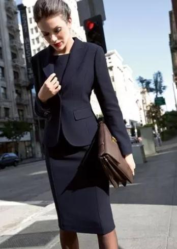 Formal wear look in black sheath dress