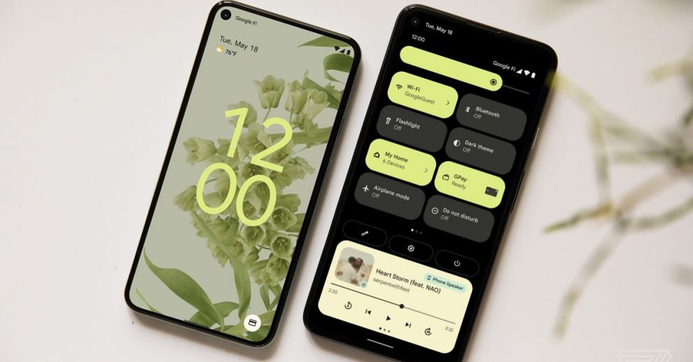 Android 12 beta version is out now with amazing features.