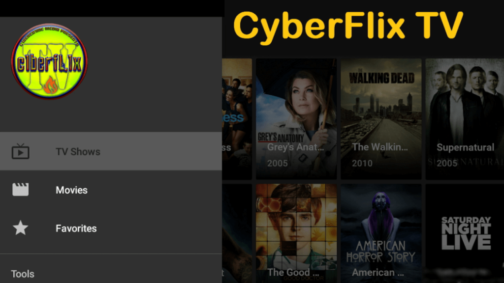 Cyberflix for PC will help you to stay in tough with your favorite shows