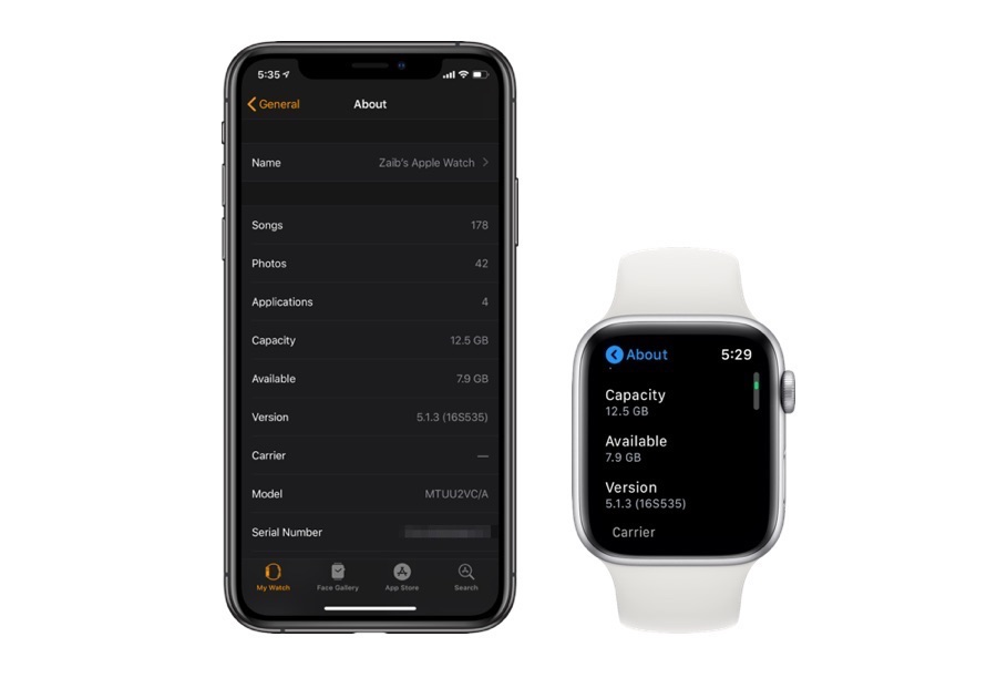 Free up space on Apple Watch