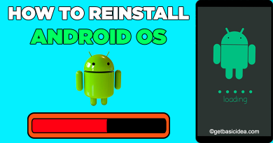 How to Reinstall Android OS using PC