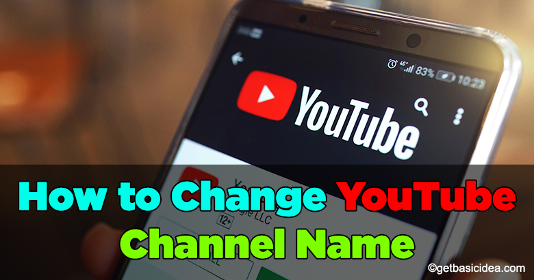 How to change YouTube channel name