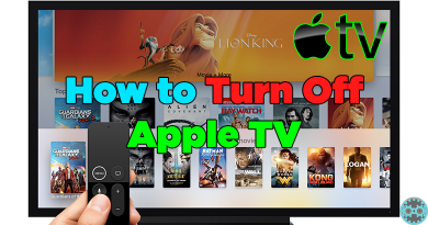 How to turn off Apple TV