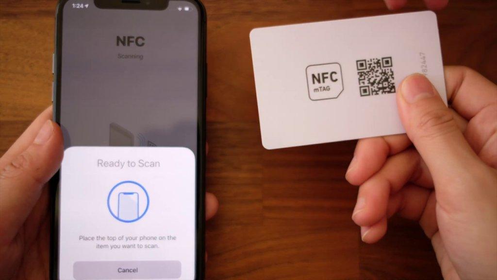 NFC tag reader iOS 14
