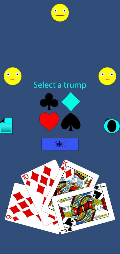 Select the Trump wisely - Omi Master Card Game
