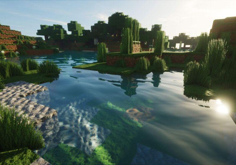 Shaders enabled - Minecraft OptiFine