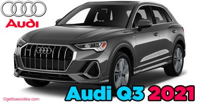 Audi Q3 2021 Luxury Subcompact SUV