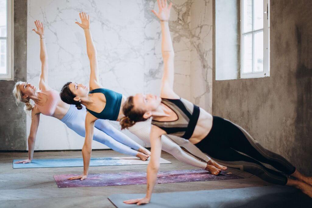 Yoga for balance exercise