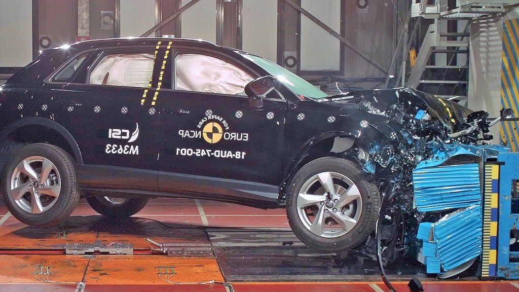 The crash tests performed in Audi Q3.