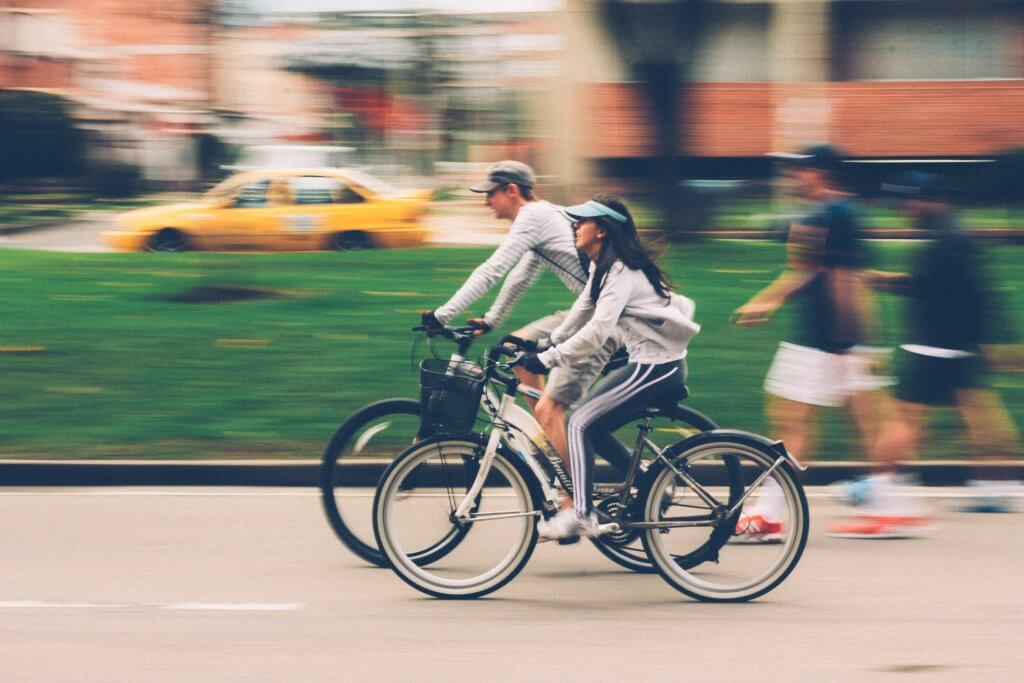 Cycling is an endurance type of exercise