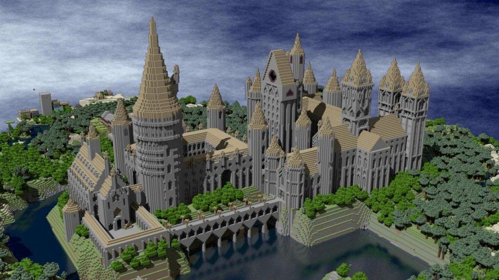 Hogwarts Castle by Harry Potter fans