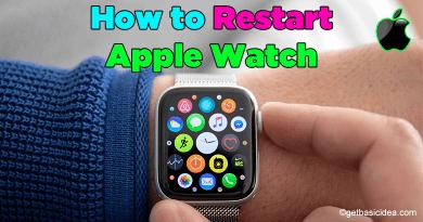 How to Restart Apple Watch