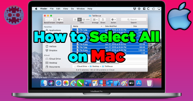 How to Select All on Mac