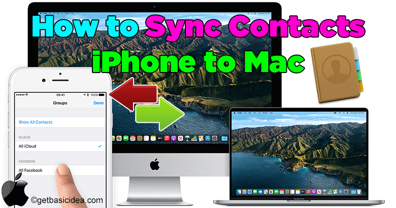 How to Sync Contacts from iPhone to Mac