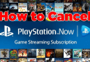 How to cancel PlayStation Now Subscription
