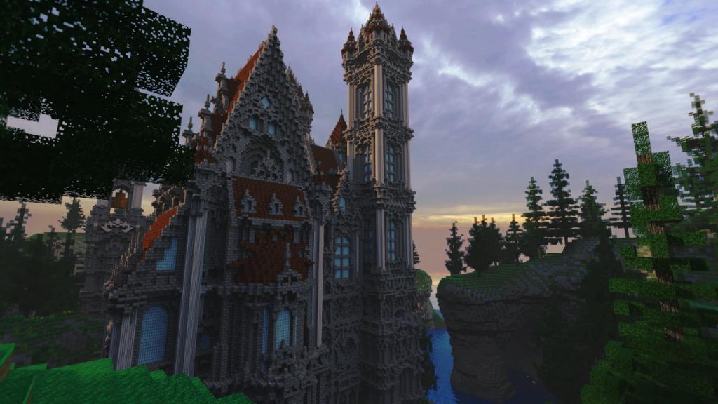 Mesmerizing Gothic castle.