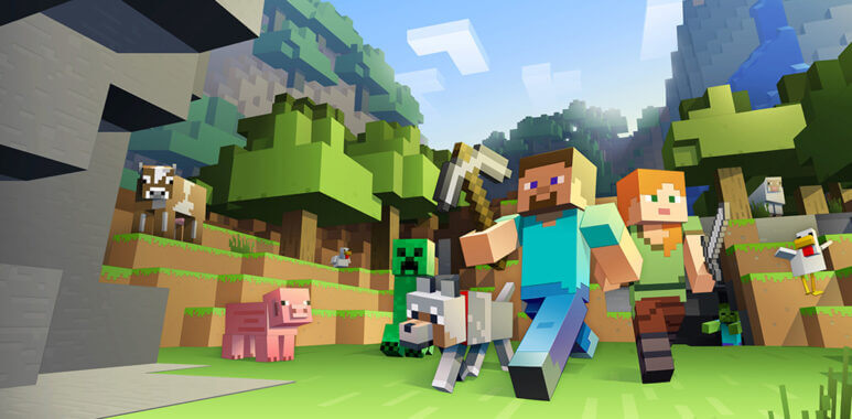 Minecraft Speedrun to complete the game quickly.